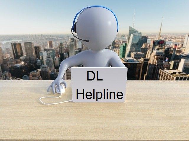 Driving Licence Helpline Number