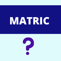 post matric means in hindi