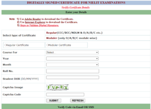 ccc certificate downoad