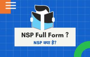 NSP Full Form